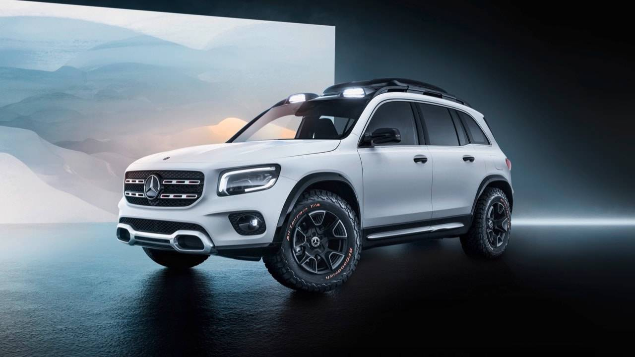 Mercedes' Concept GLB is a chunky urban SUV that would sell like crazy