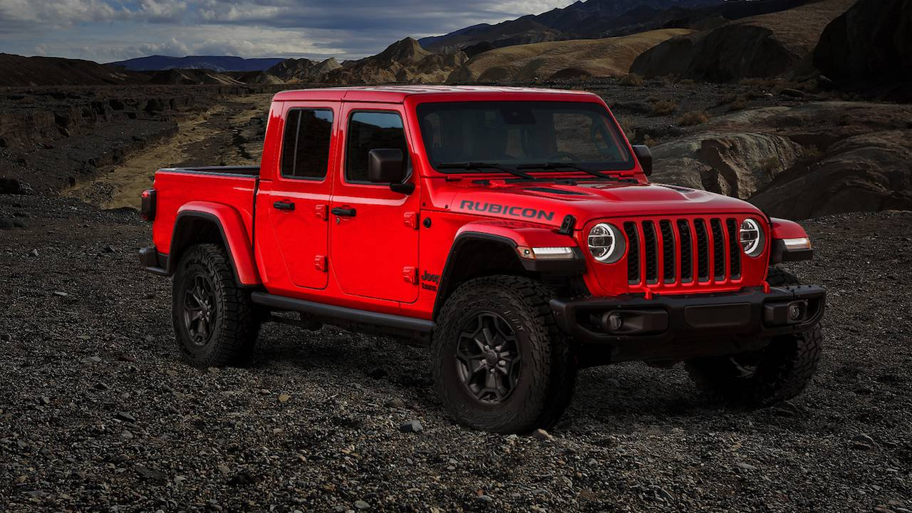 Jeep's 2020 Gladiator Launch Edition sold out in a day