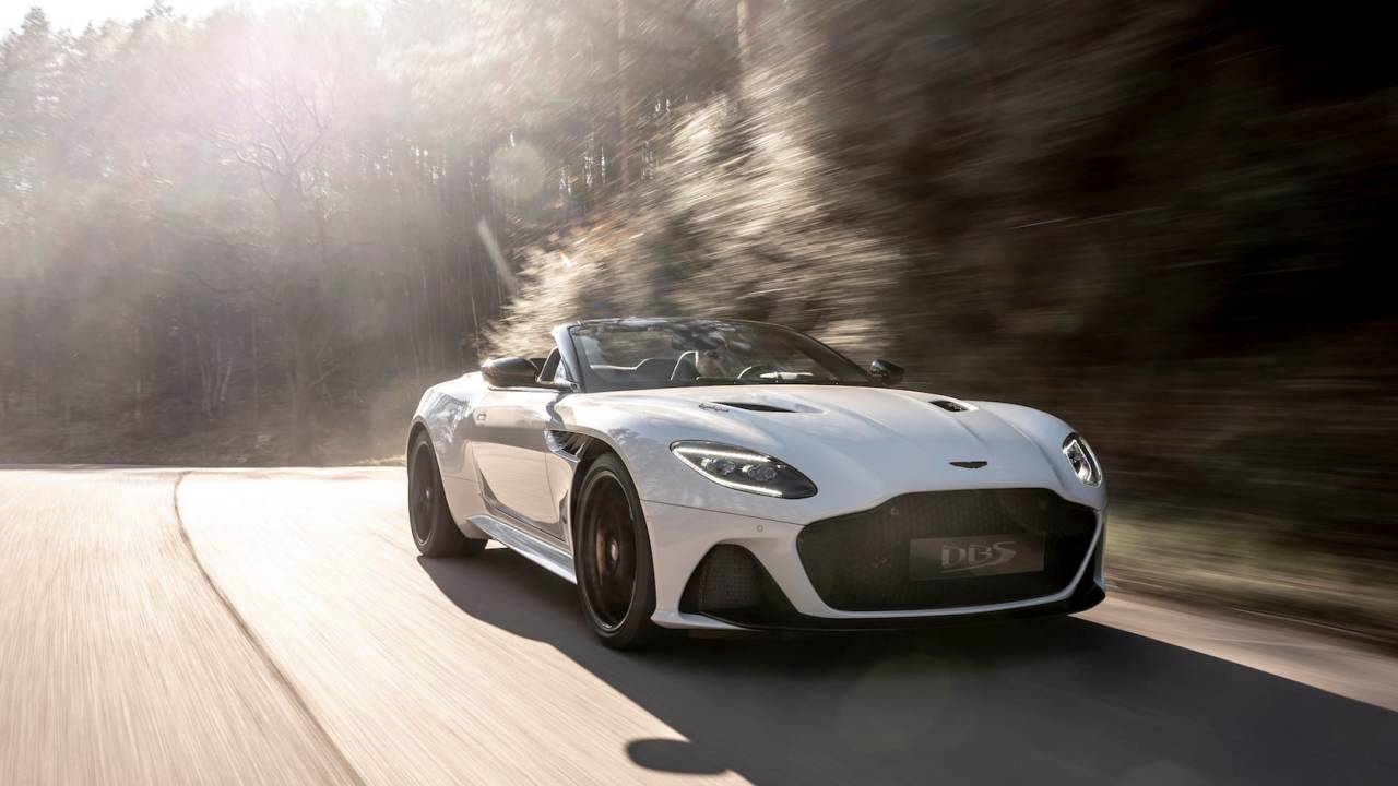 Aston Martin DBS Superleggera Volante sees luxe GT go open-air