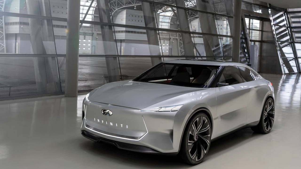 Infiniti Qs Inspiration electric sports sedan teases big news coming