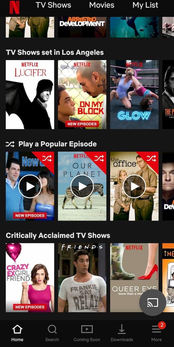 Netflix has secretly started testing a 'random episode