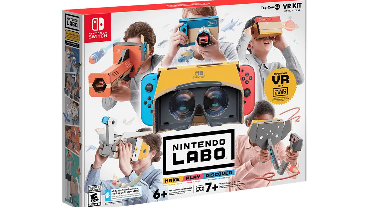 Nintendo Labo VR Kit released: Here's what you get