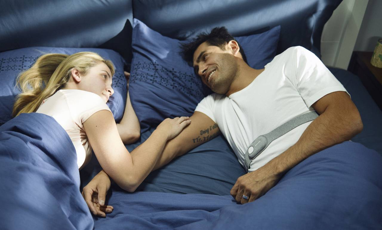 this sleepsmart strap promises an easy snoring cure. Black Bedroom Furniture Sets. Home Design Ideas