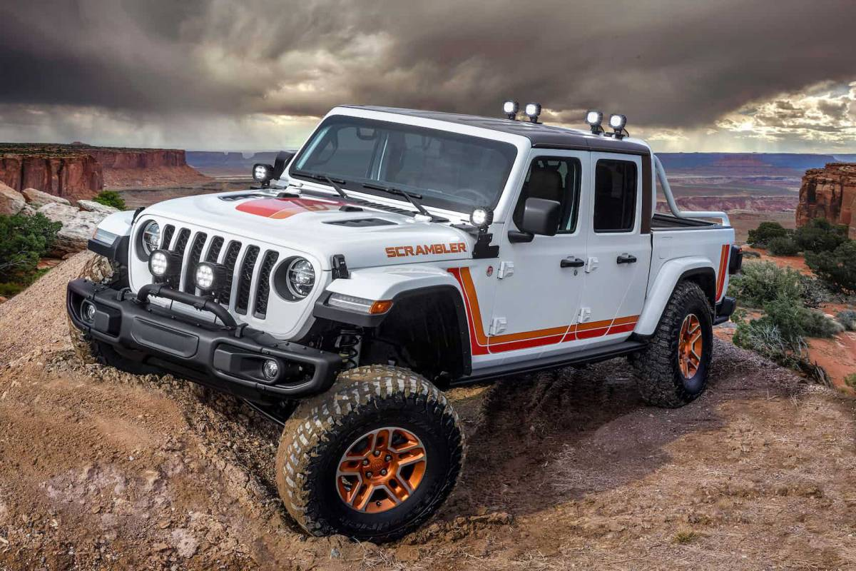 Jeep turned its Gladiator pickup into these epic concept ...