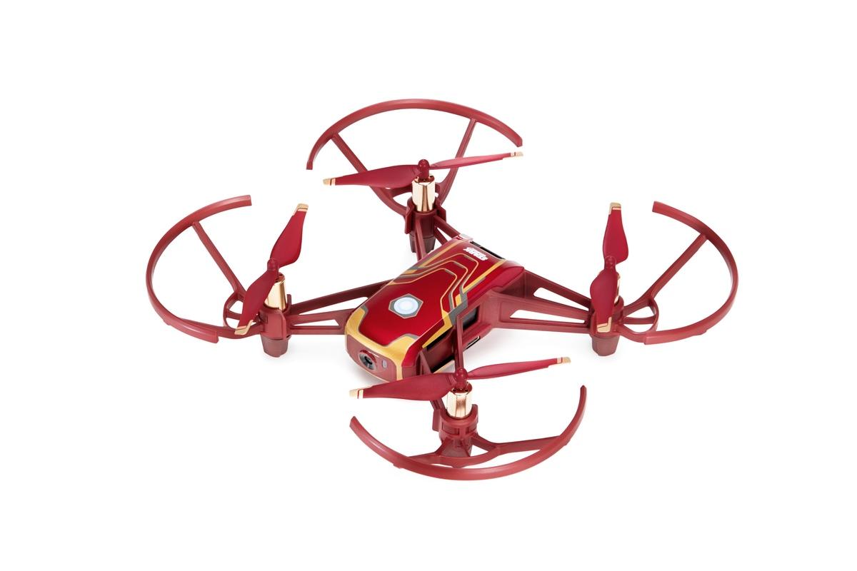 DJI Tello Iron Man Edition drone promises Avengers aerial