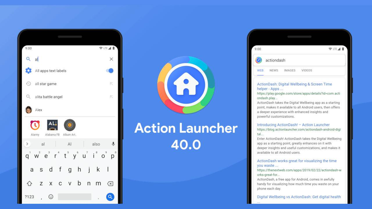 Action Launcher v40 brings new search powers to Android