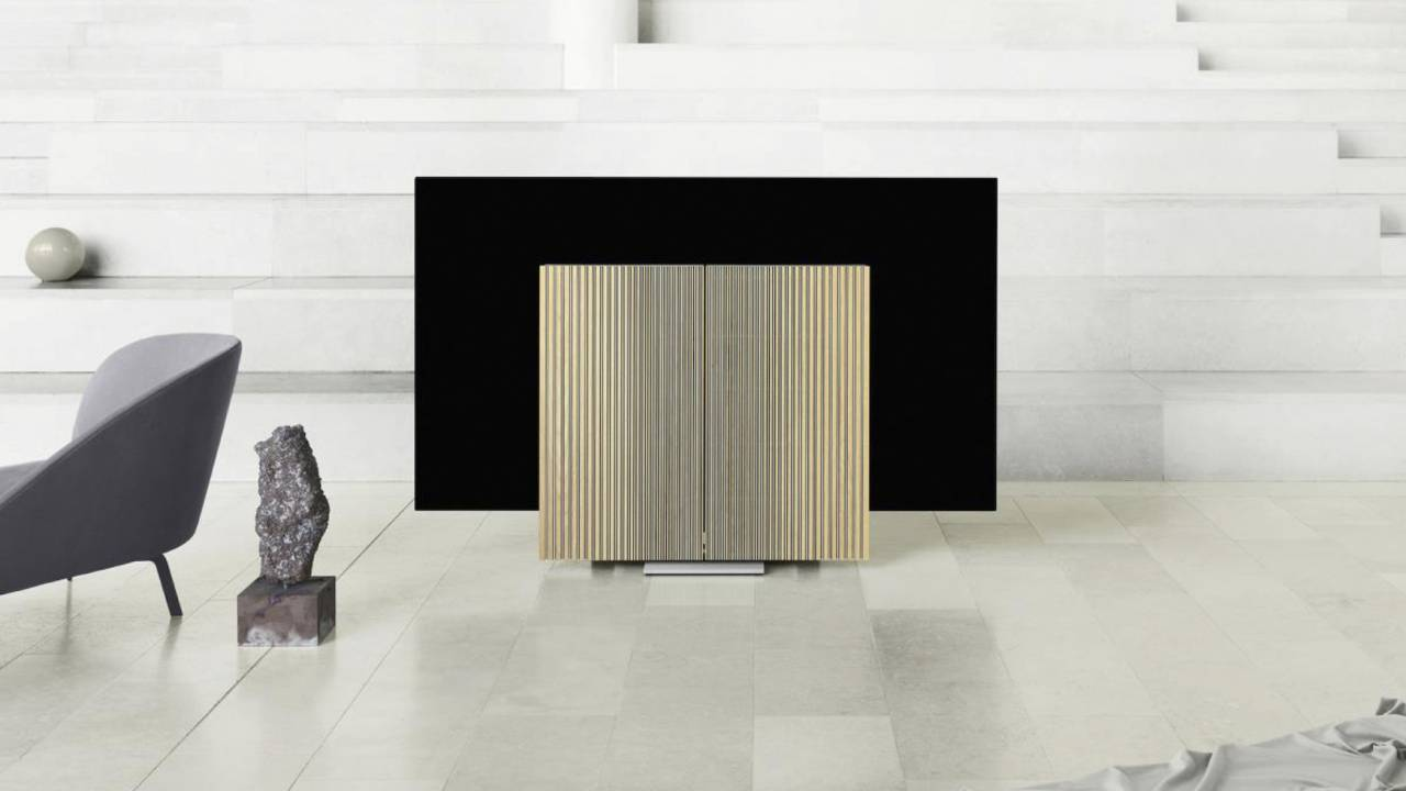 Bang & Olufsen Beovision Harmony is a shape-shifting TV spectacle