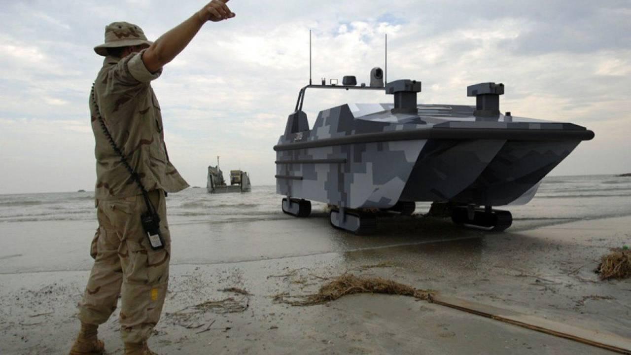 China reveals 'Marine Lizard' amphibious autonomous landing vehicle