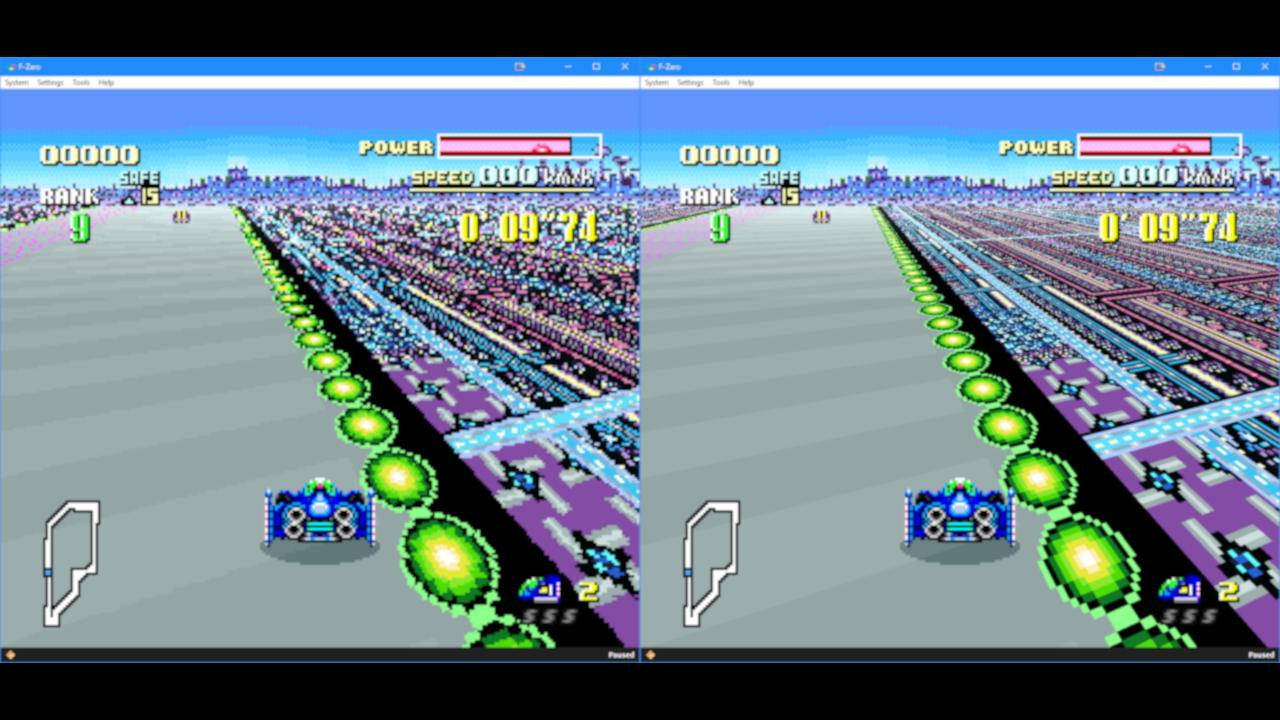 bsnes HD Mode 7 mod brings pixelated classics to the hi-def world