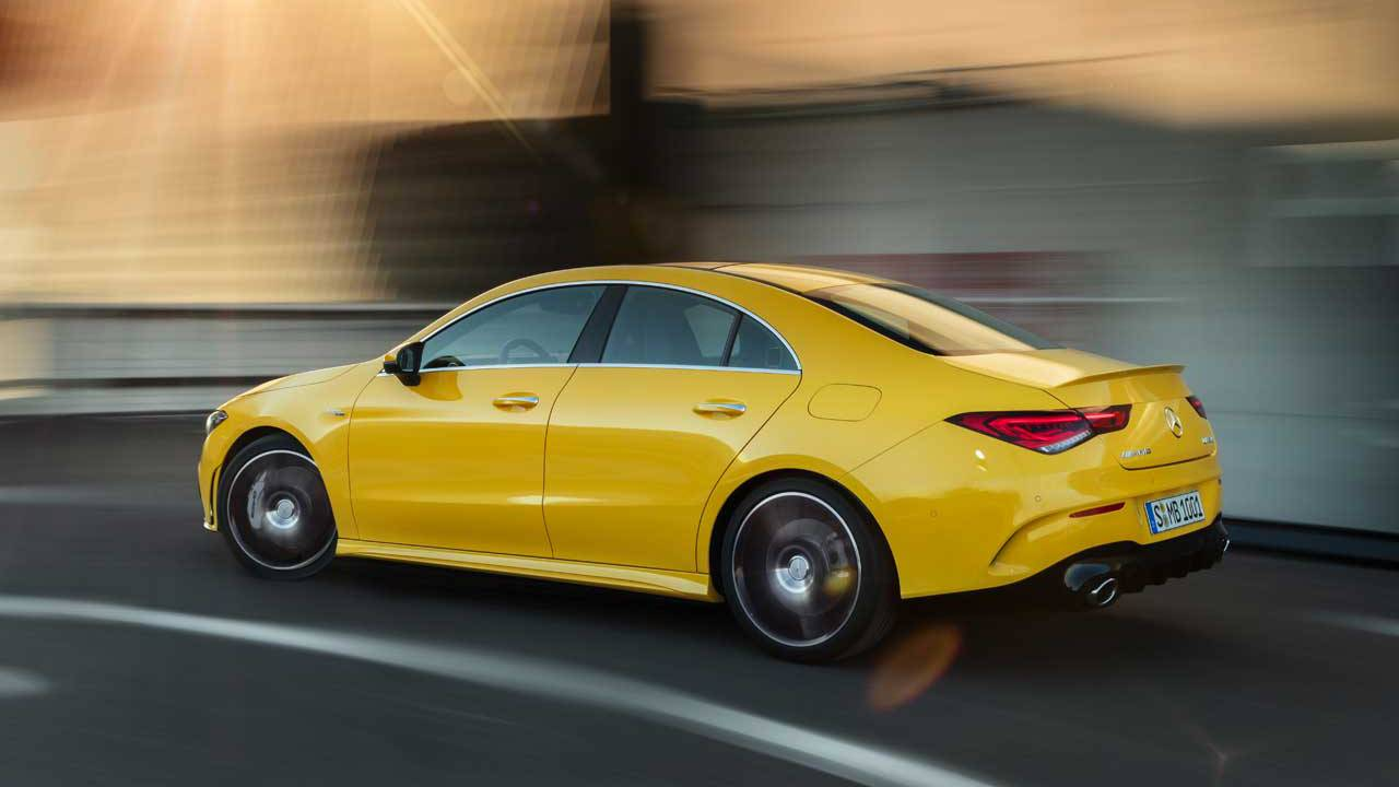 Mercedes-AMG CLA 35 4Matic is four-doors of family performance