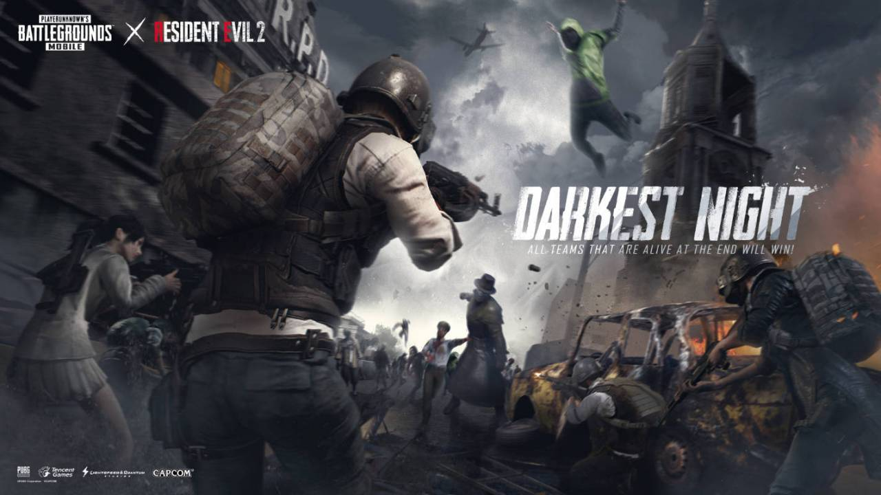 PUBG Mobile 'Darkest Night' zombie survival mode arrives in 0.12.0