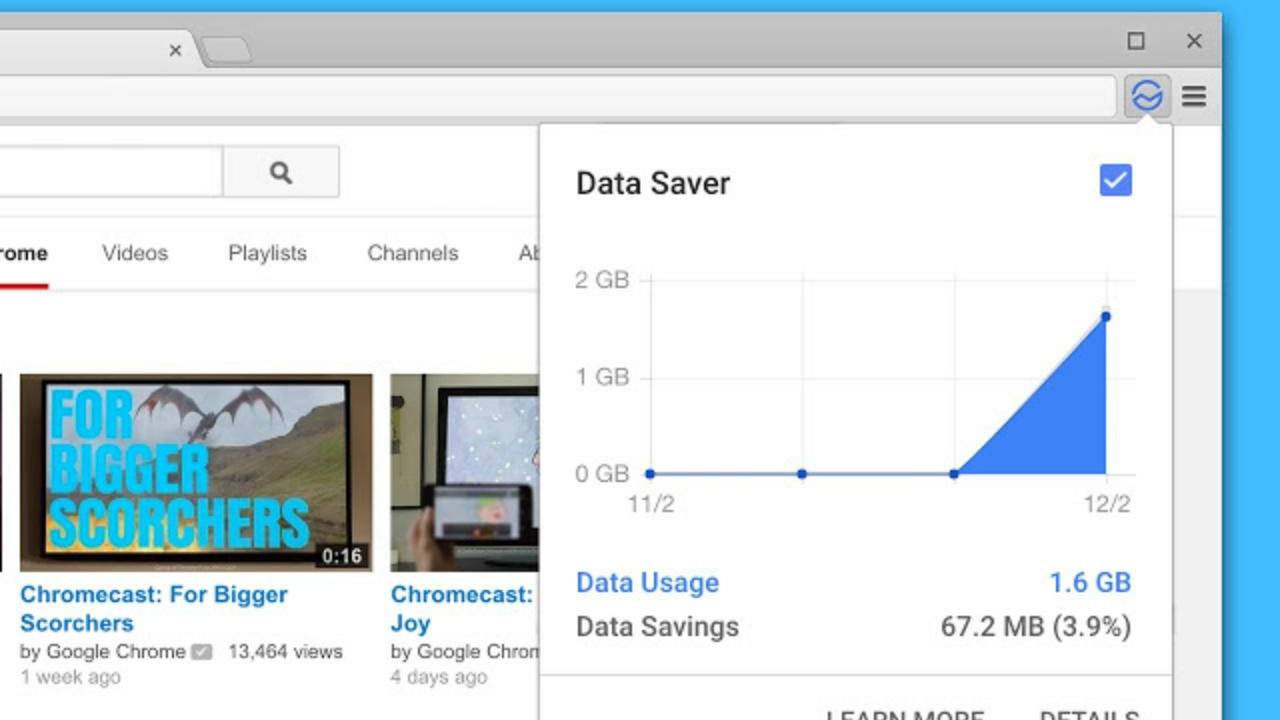 Chrome Data Saver extension for desktop is being shuttered