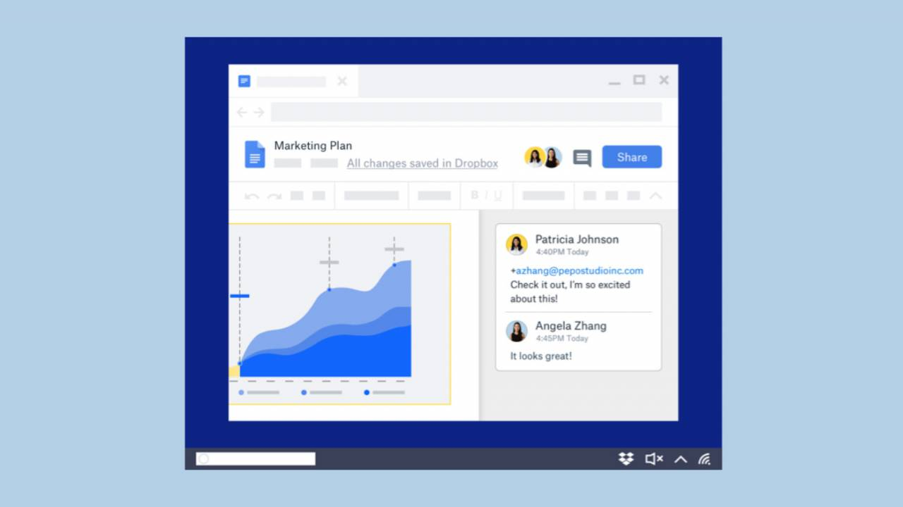 Dropbox boosts productivity with new Google Docs integration