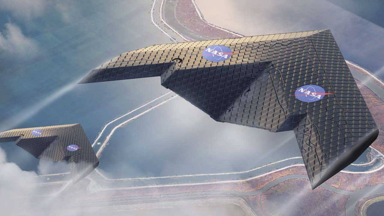 NASA and MIT researchers show off new flexible airplane wing