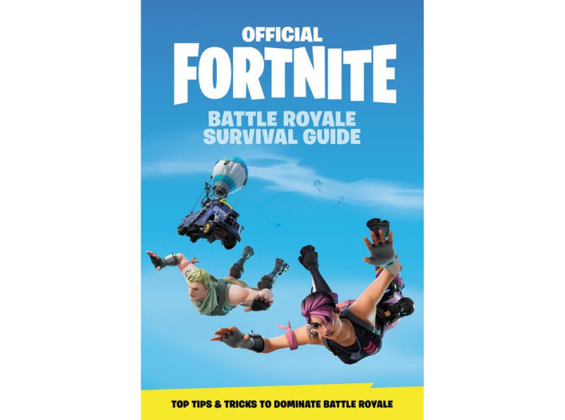 Fortnite Build Ideas Epic S Official Fortnite Survival Guide Book Launches In May Slashgear
