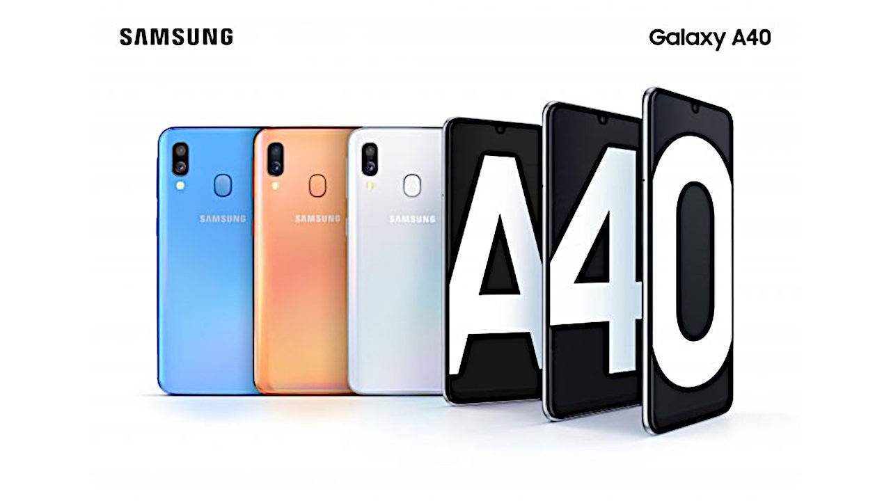 Galaxy A20e and A40 arrive in the shadow of the Galaxy A80