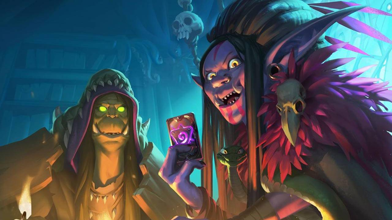 Hearthstone update Rise of Shadows release just went live