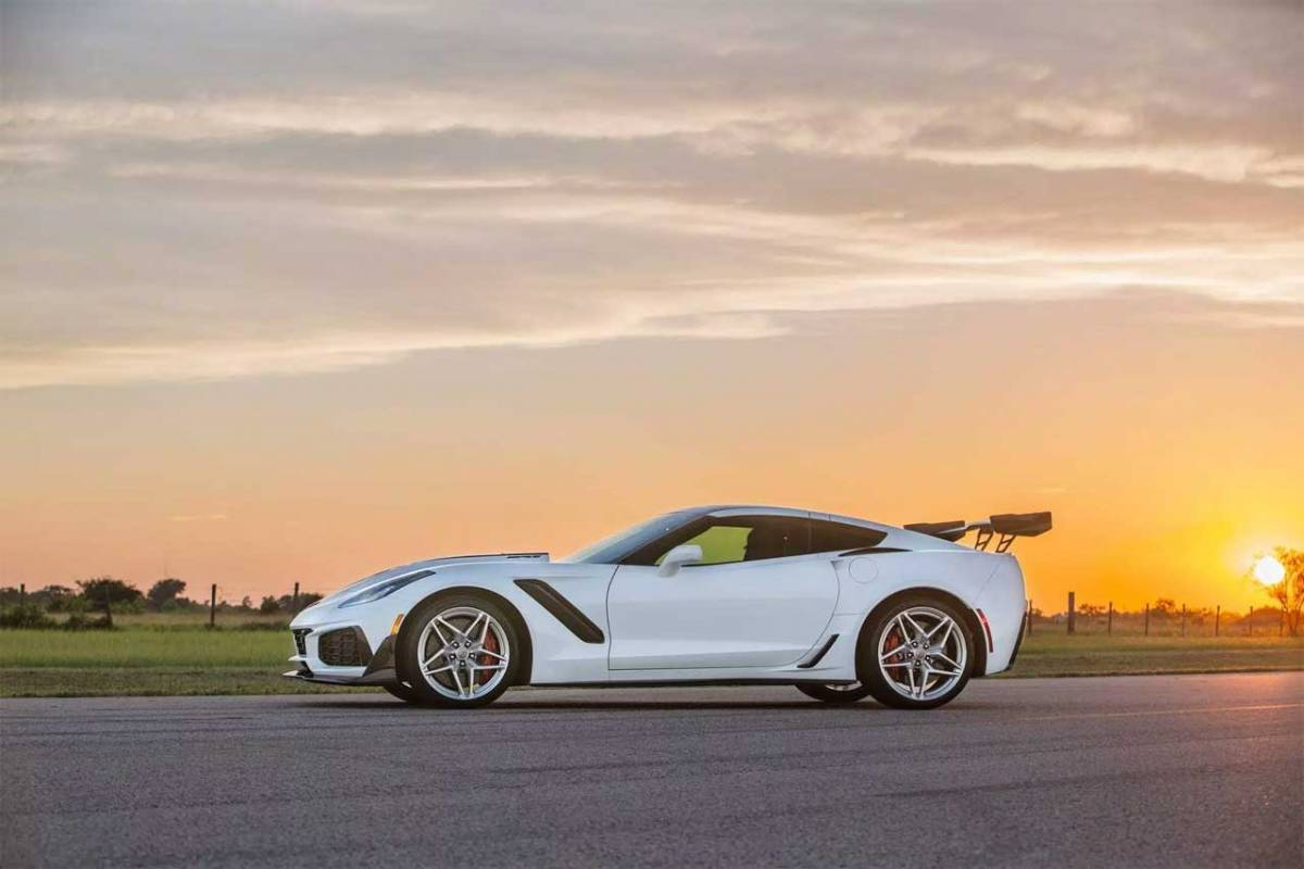 Hennessey HPE1200 ZR1 Corvette upgrade makes 1,200hp - SlashGear