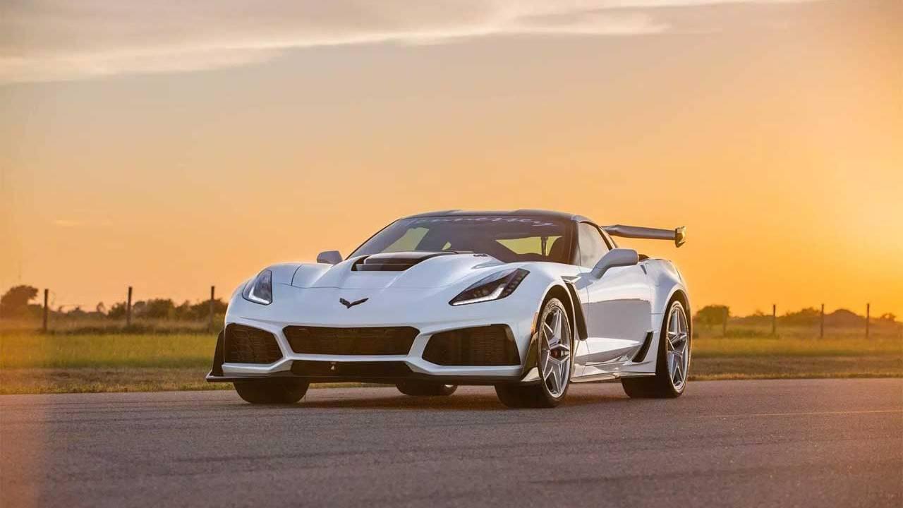 Hennessey HPE1200 ZR1 Corvette upgrade makes 1,200hp
