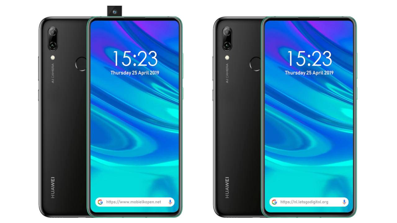 Huawei P Smart Z to be its first popup camera phone - SlashGear