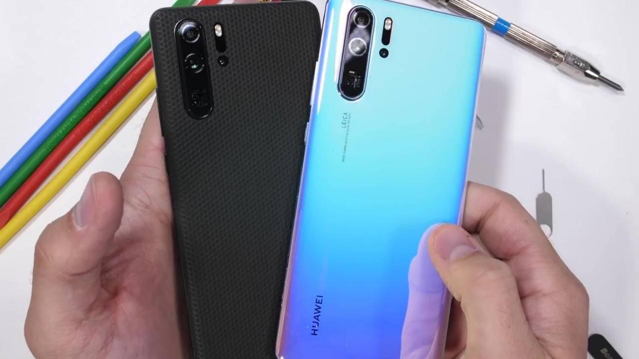 Huawei P30 Pro durability test redeems Huawei's P brand