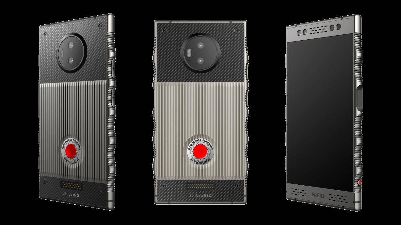 RED Hydrogen One Titanium is finally available if you can afford it