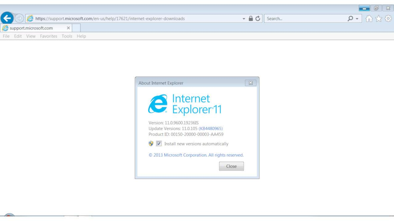 Internet Explorer continues to threaten PC users with 0-day exploit