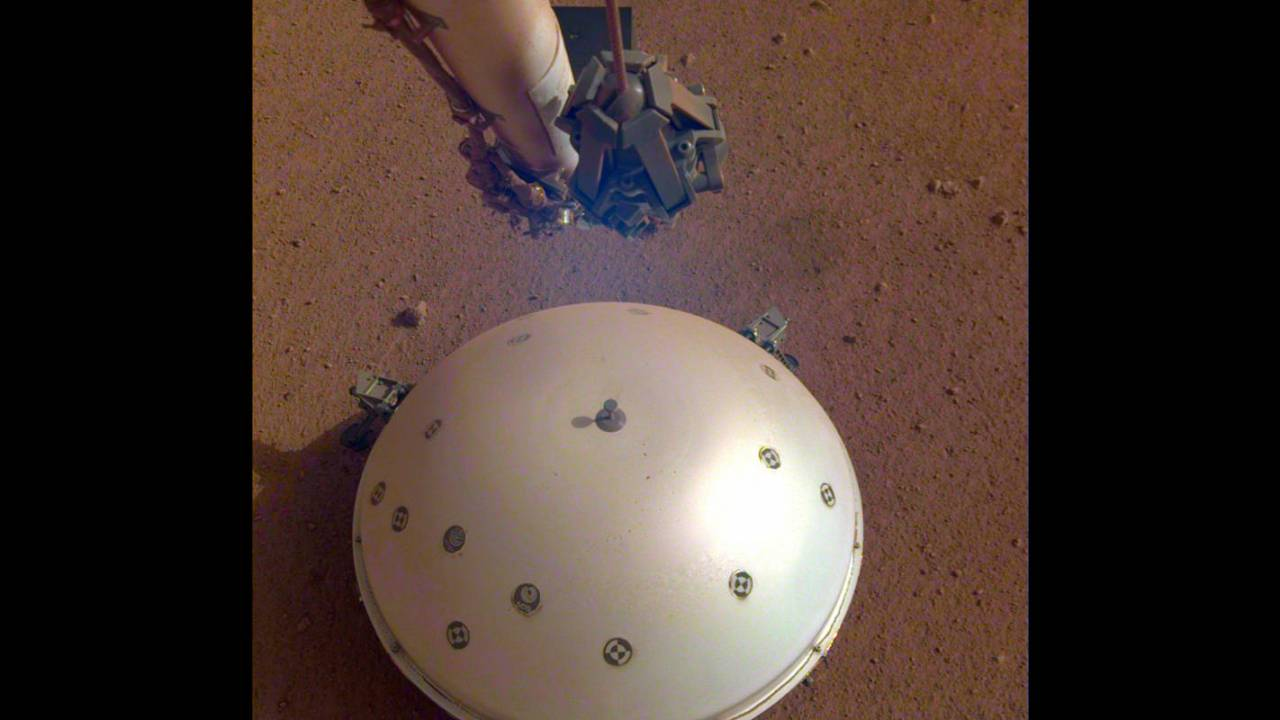 NASA InSight lander may have detected the first 'marsquake'