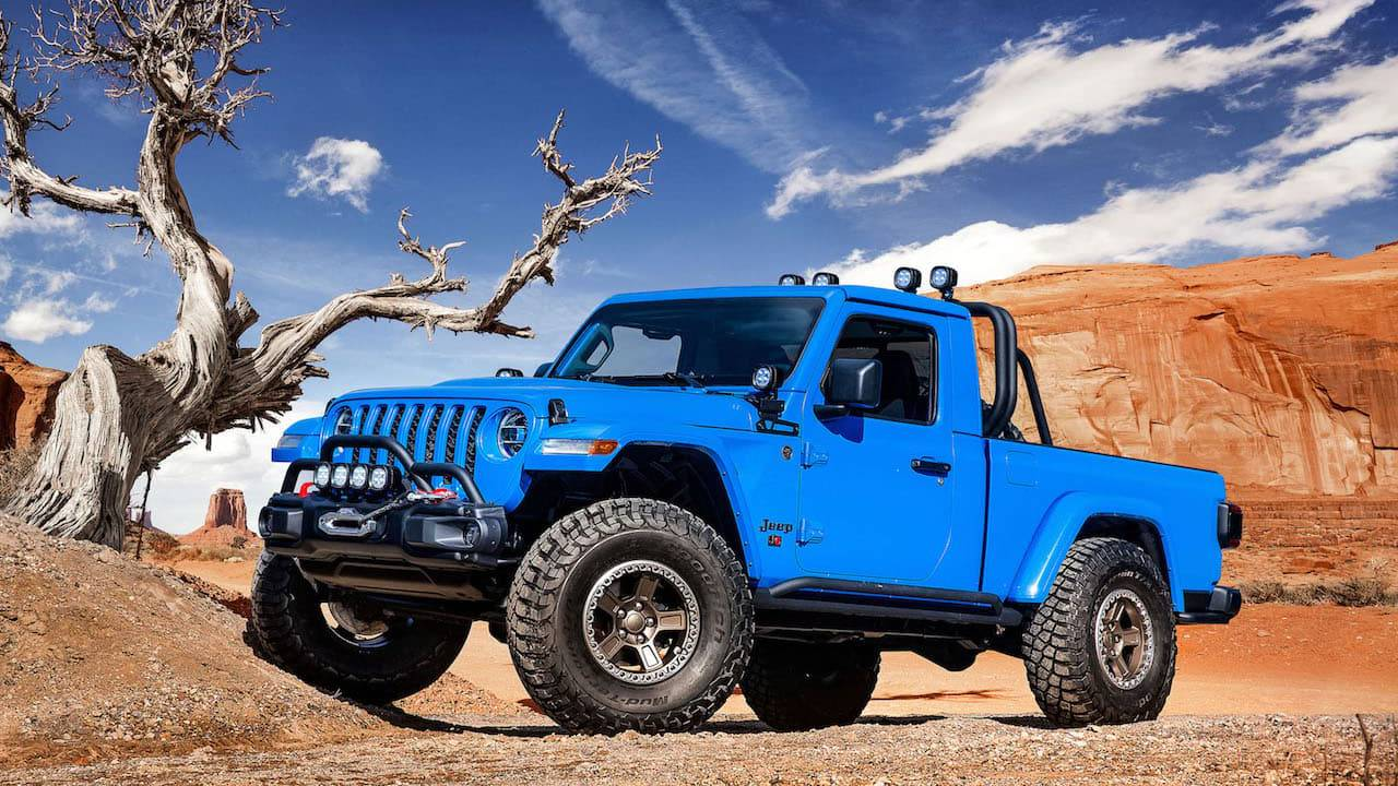 Jeep turned its Gladiator pickup into these epic concept trucks