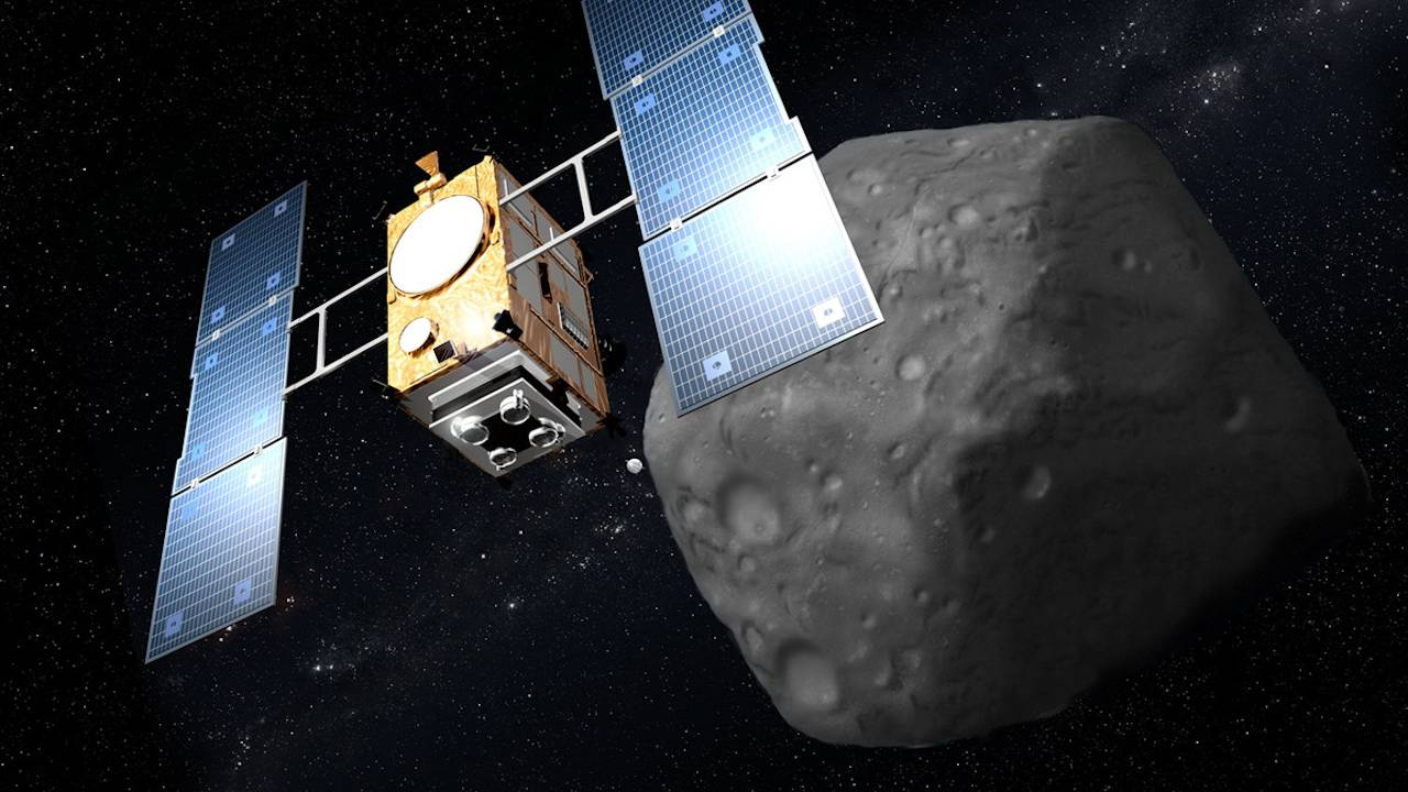 JAXA confirms Hayabusa2's bomb made a crater