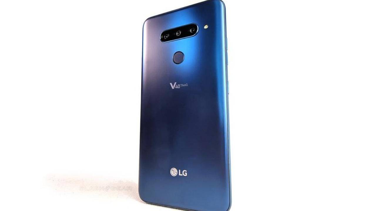 LG V40 ThinQ DxOmark camera score spells trouble for the company