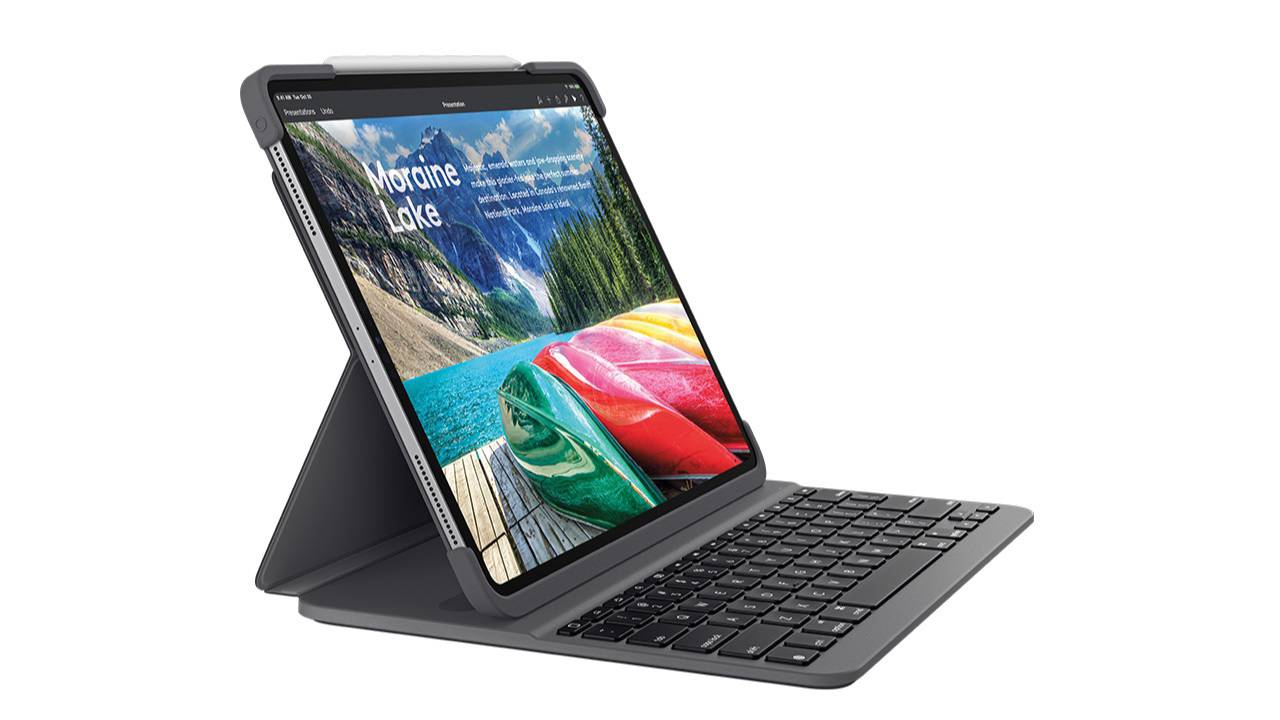 Logitech Slim Folio Pro gives iPad Pro a proper keyboard (with a catch)