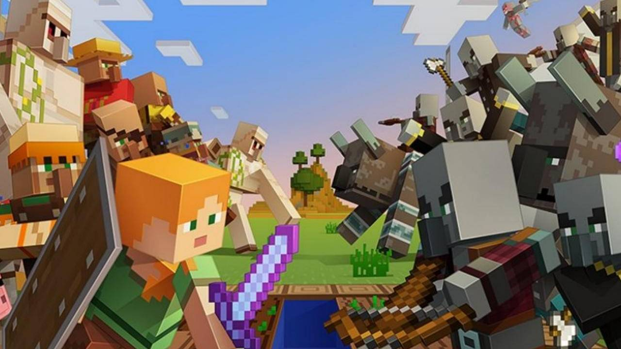 Minecraft Village and Pillage update tries to show it's still got game