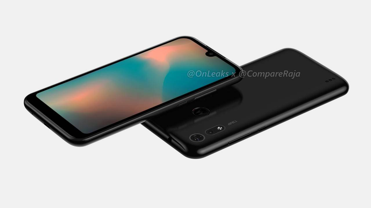 Moto P40 Play, a.k.a. One Power 2, renders show lots of bezels