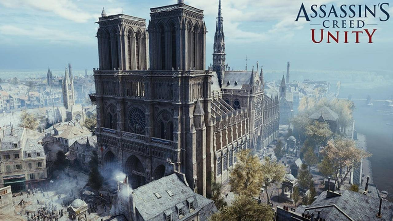 Assassin's Creed Unity free for a week on PCs to honor Notre Dame