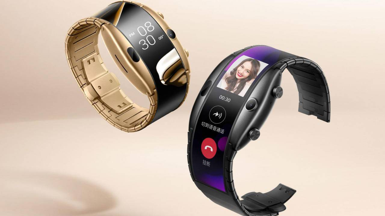 nubia Alpha bendable smartphone wristband launching this week
