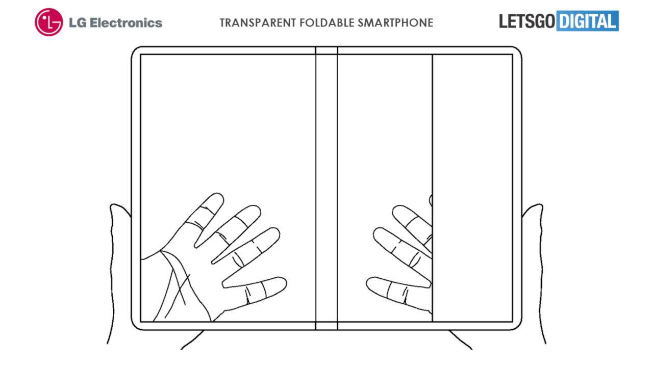 LG transparent foldable phone patent is too dreamy