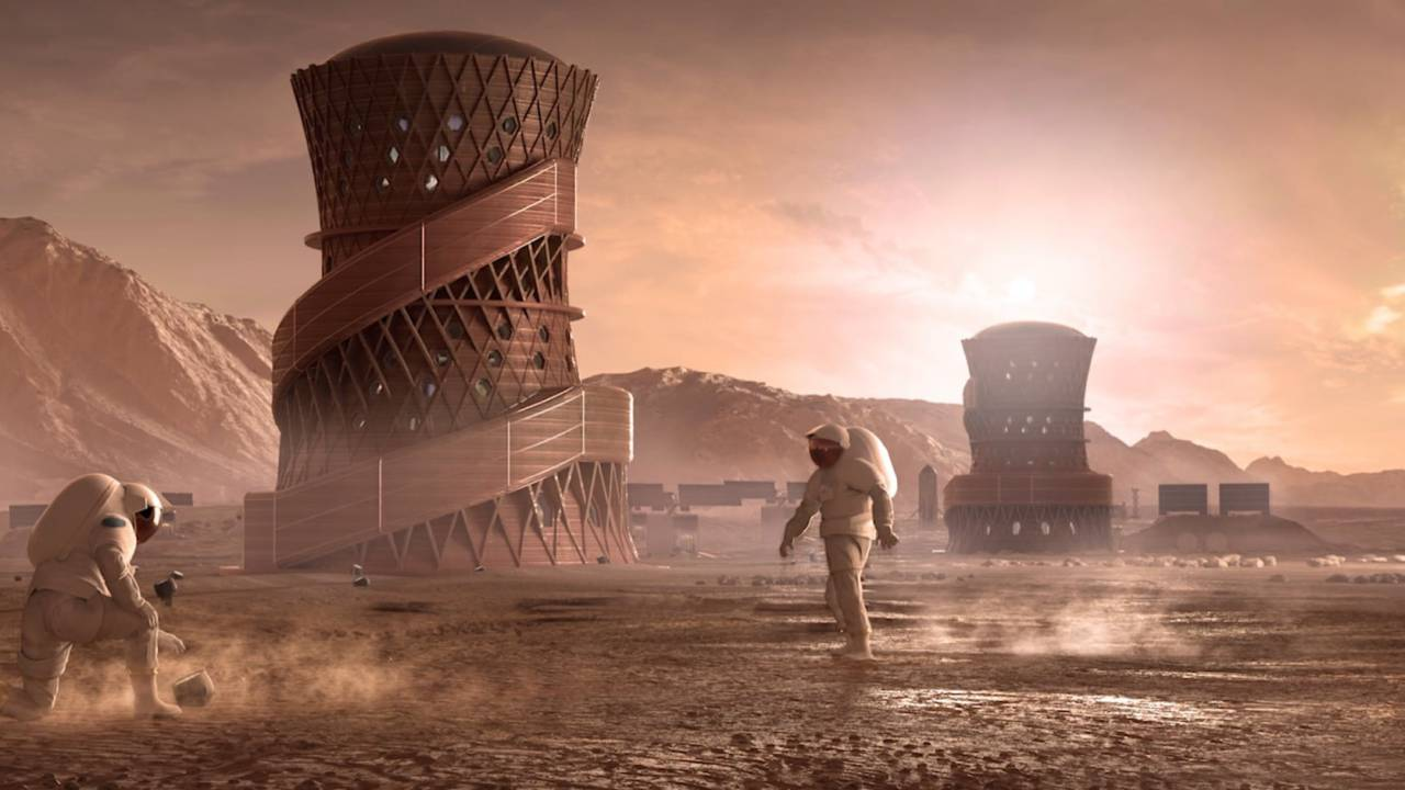 NASA wanted a 3D printed Mars habitat: These are the 3 finalists