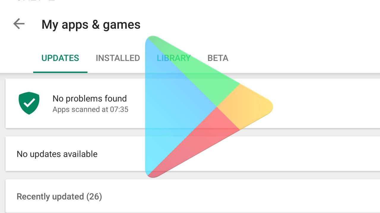 Android system updates might come via Google Play Store soon