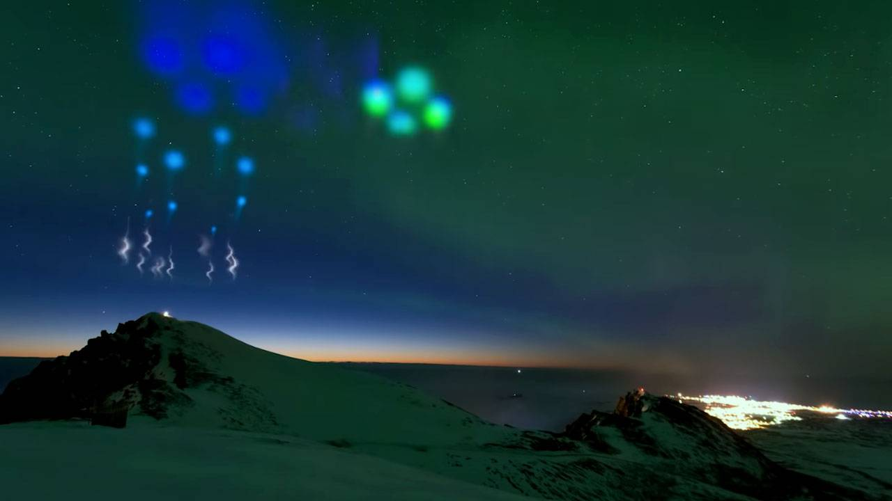 NASA fired rockets into the Northern Lights for this epic aurora show