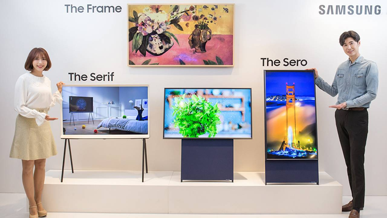 Samsung's strangest TV just got an even weirder version