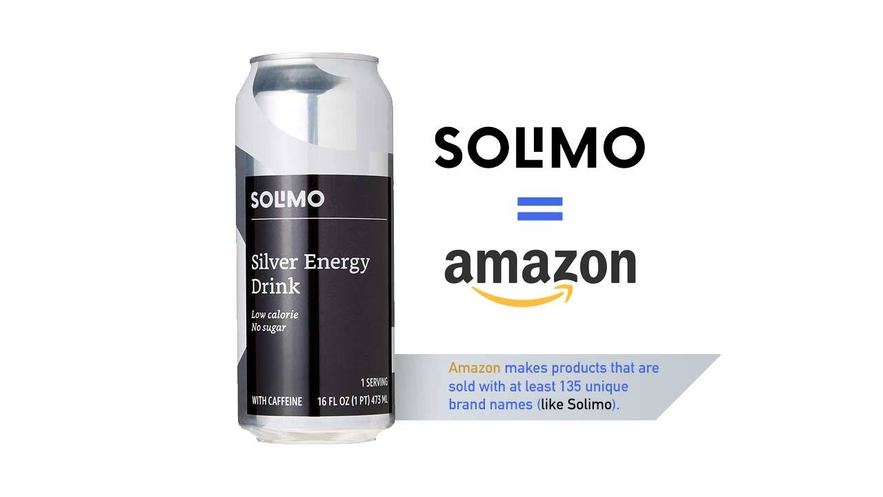 Amazon private label brands: Energy drinks are only the latest