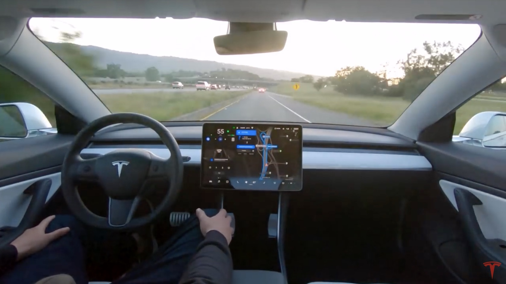 Tesla S Latest Full Self Driving Car Went For A Drive