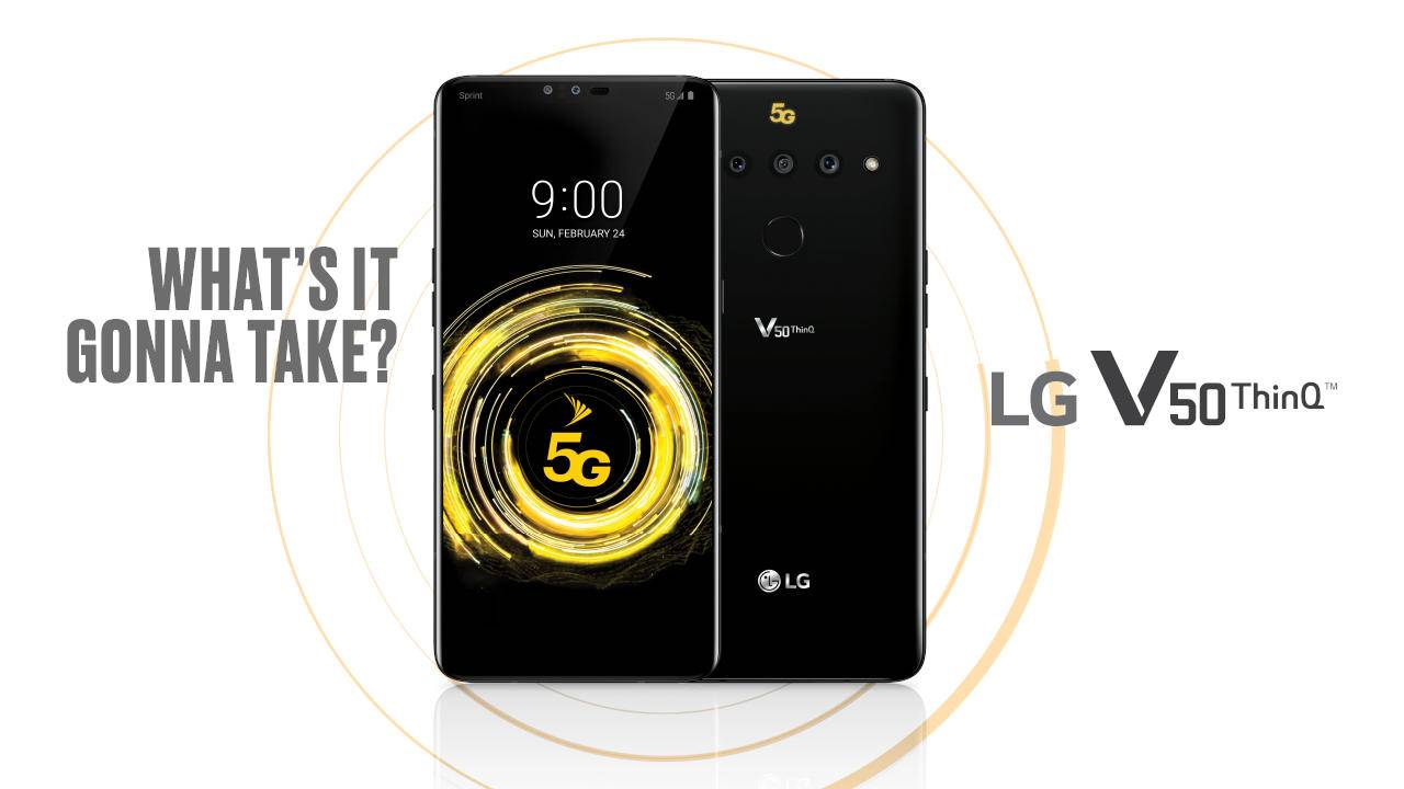 LG V50 ThinQ launch delay blamed on 5G
