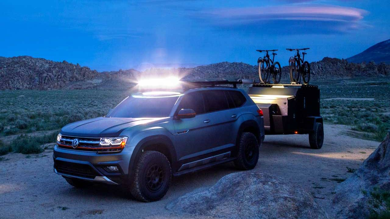 VW Atlas Basecamp Concept shows off official accessories