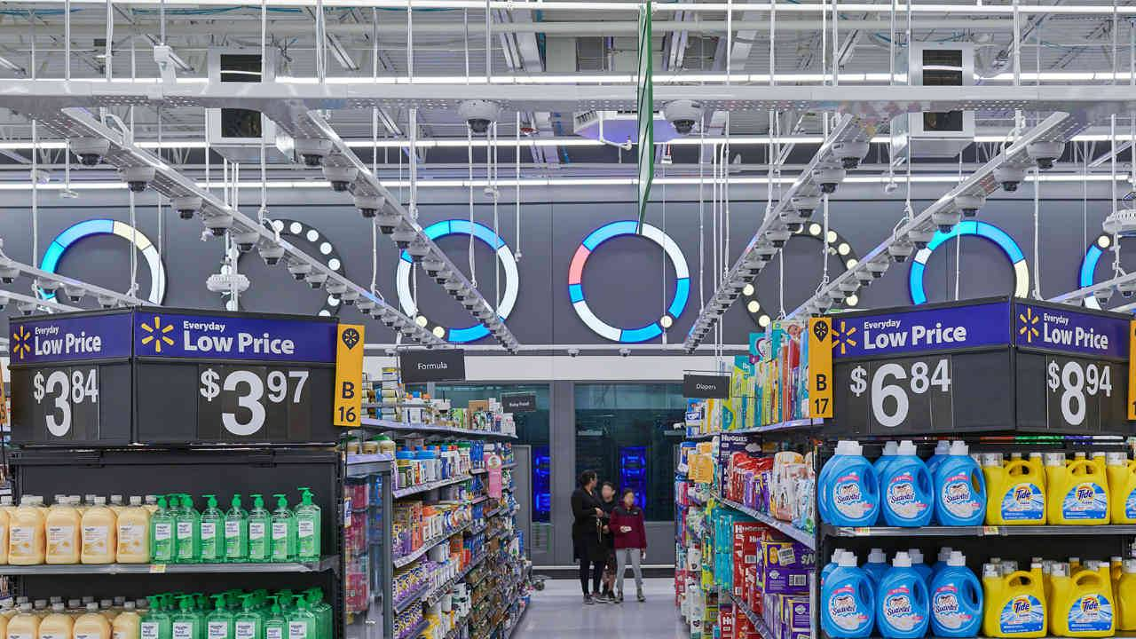 Walmart's AI-powered smart grocery store is now open to the public