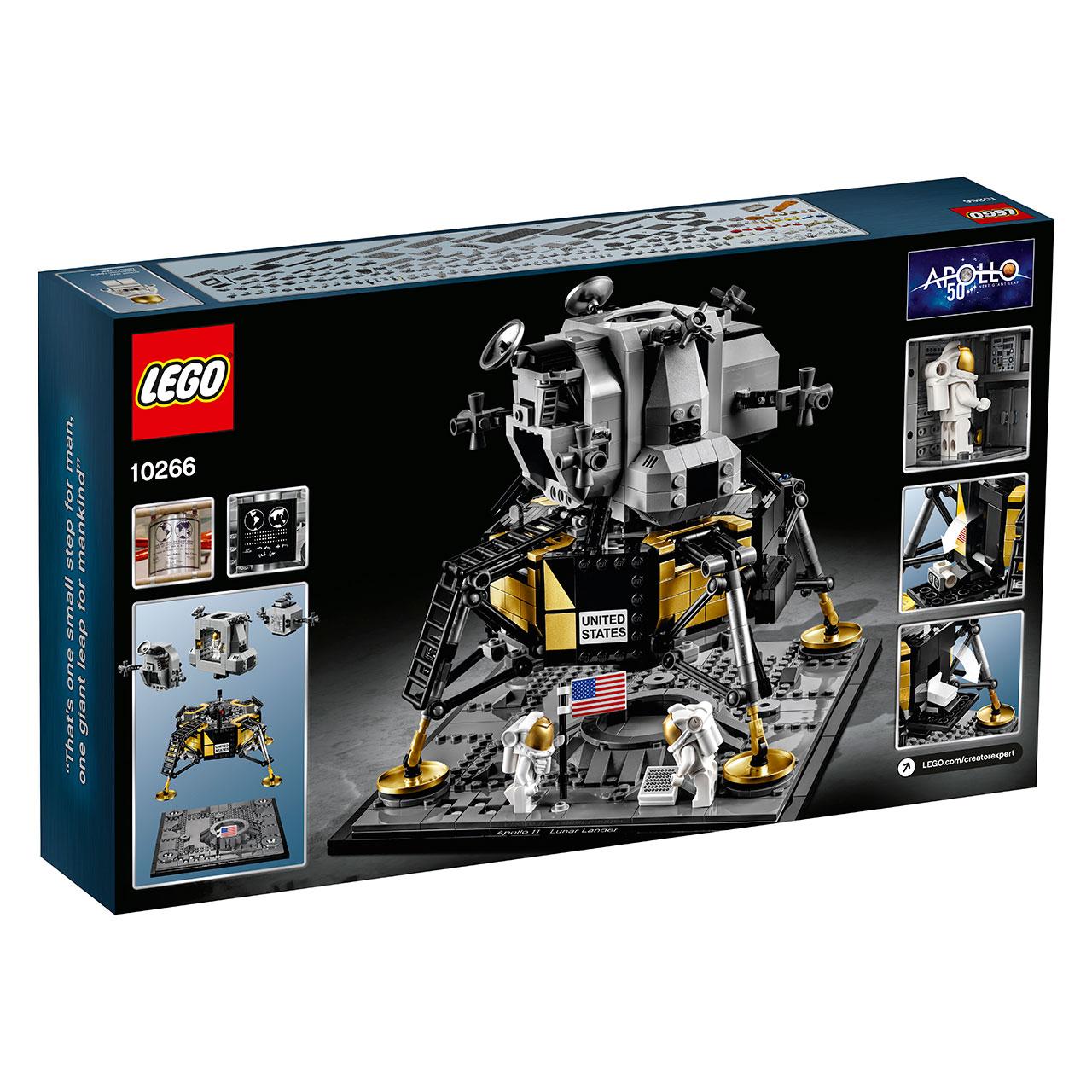 LEGO Apollo 11 Lunar Lander joins 7 new sets depicting