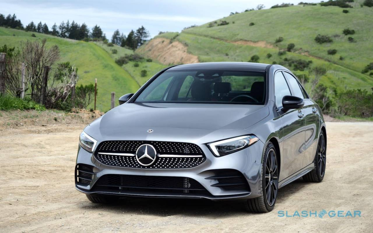 2019 Mercedes Benz A220 4matic Review Small Sedan Huge