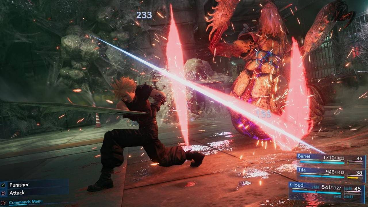 Image result for ffvii remake gameplay