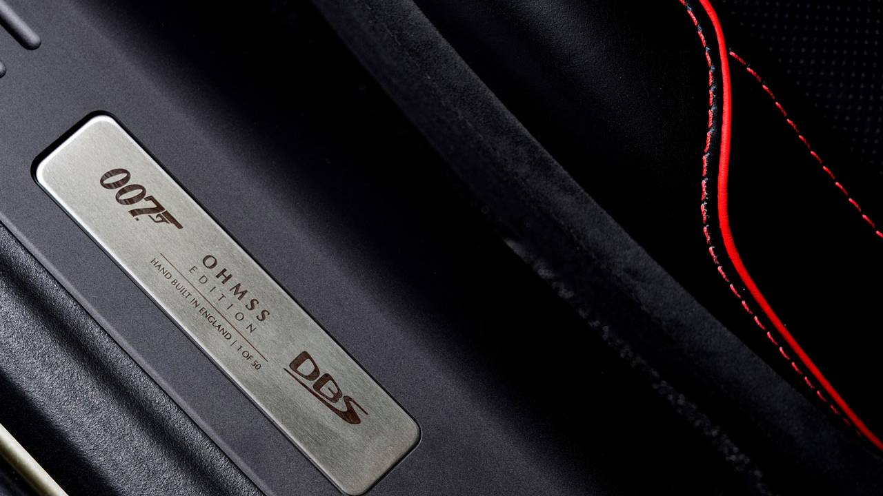 Aston Martin celebrates the 50th Anniversary of classic James Bond flick